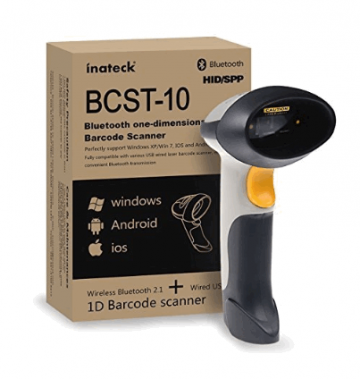 Barcode Scanner: BCST-10